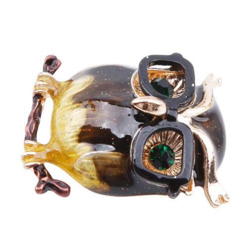 Cartoon Owl Eye Metal Clothes Decoration D