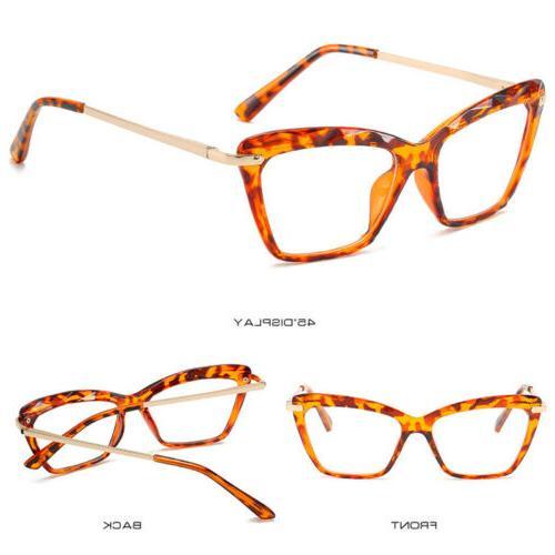 Cat Clear Glasses Frames Women Eyeglasses Optical