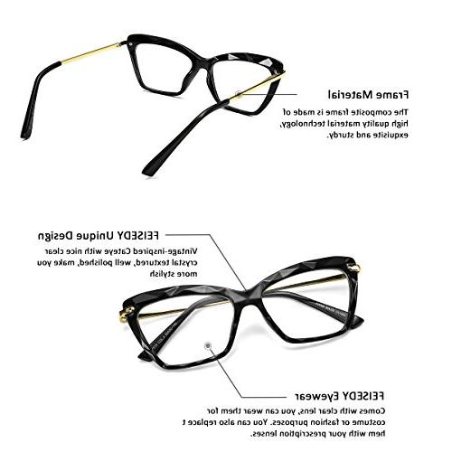 FEISEDY Cat Frame Eyewear Women