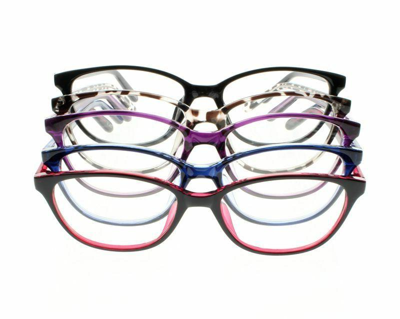 Ladies Cat Glasses Nearsighted Strength -1.0 -6.0