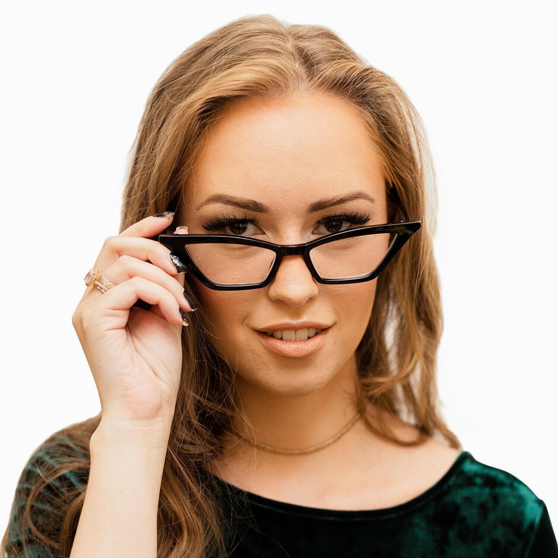 Cat Reading Glasses for Women Vintage Designer Eyeglasses
