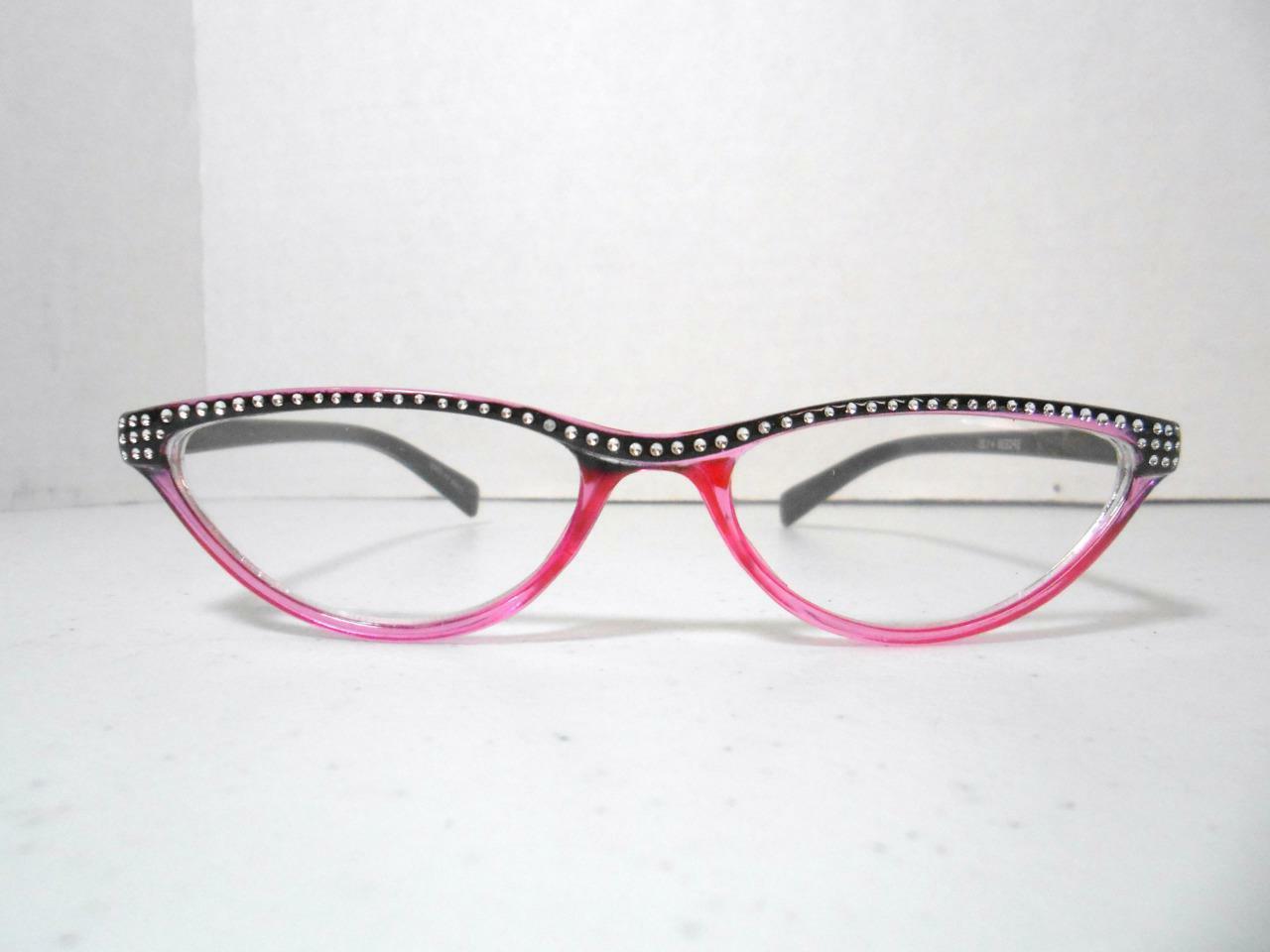 Cat Eye Glasses Look