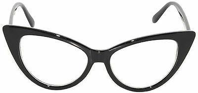 cat eye sunglasses clear lens retro glasses