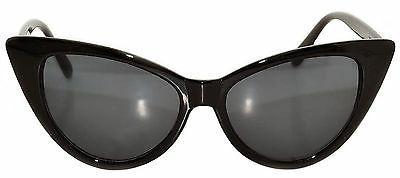cat eye sunglasses dark lens retro glasses