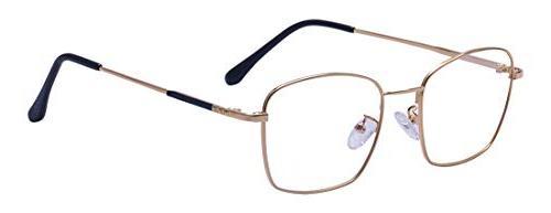 classic designer retro square eye glasses metal