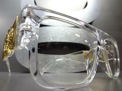 CLASSIC VINTAGE HIP RAPPER Clear Lens GLASSES Frame
