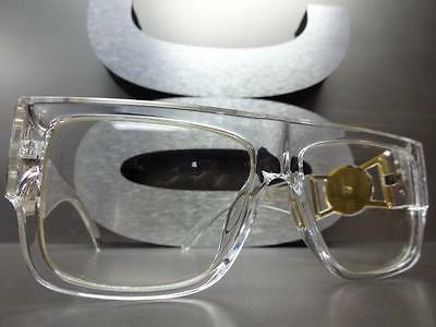 CLASSIC VINTAGE HIP RAPPER EYE GLASSES & Gold Frame
