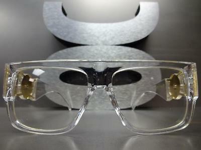 CLASSIC VINTAGE RAPPER GLASSES Transparent & Frame
