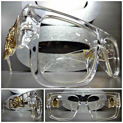 classic vintage hip hop rapper clear lens