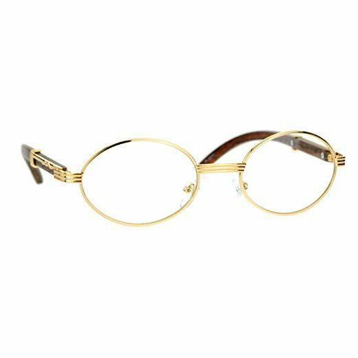 classy clear lens eye glasses