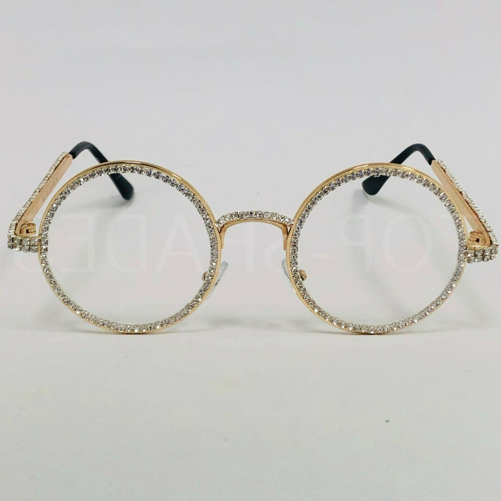 Diamond Round Migos Raper Eye Glasses