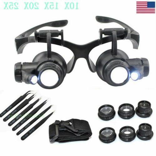 double eye watch repair magnifier