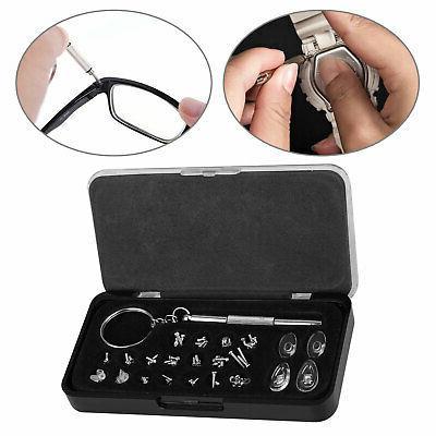 durable eye glasses repair tool screw nose