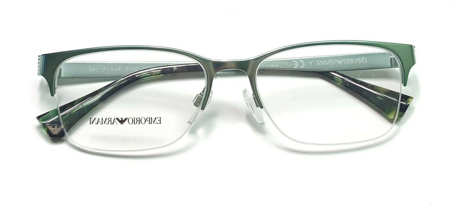 Emporio 3075 Semi Rimless Glasses