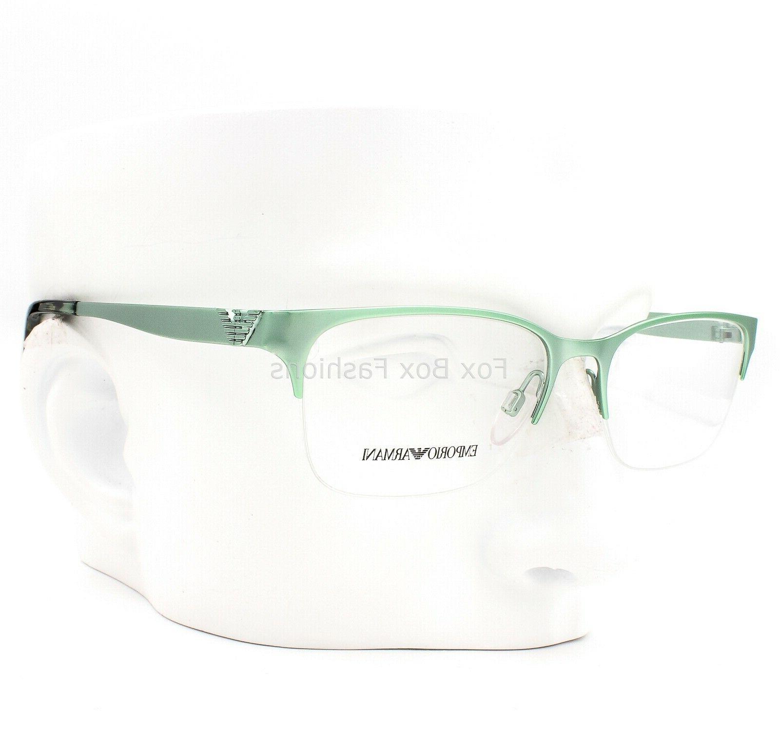 ea 1019 3075 semi rimless eyeglasses glasses