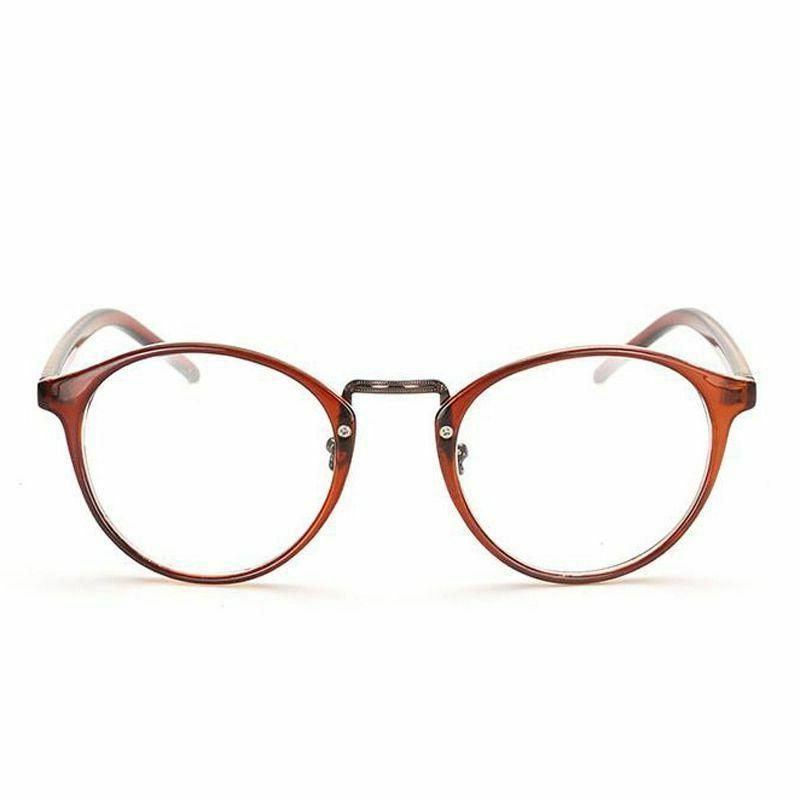 Eye Glasses Men Retro Round Ultra Light Myopia