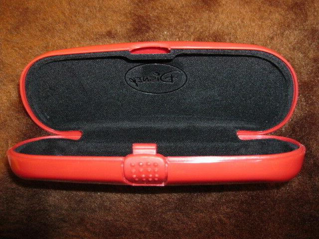 DISNEY Glasses Sunglasses CASE WITH LOGOS NOS