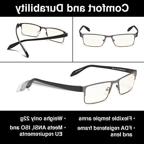 GAMMA Computer Glasses Anti Blue 0.00x