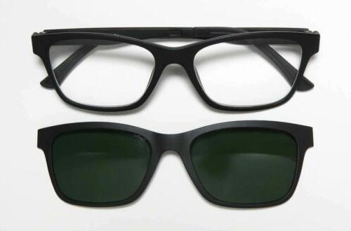 EyeBobs Sticky Reading Eye/Sun Glasses Matte Black