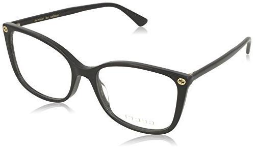 Eyeglasses Gucci GG 0026 O- 001 BLACK /