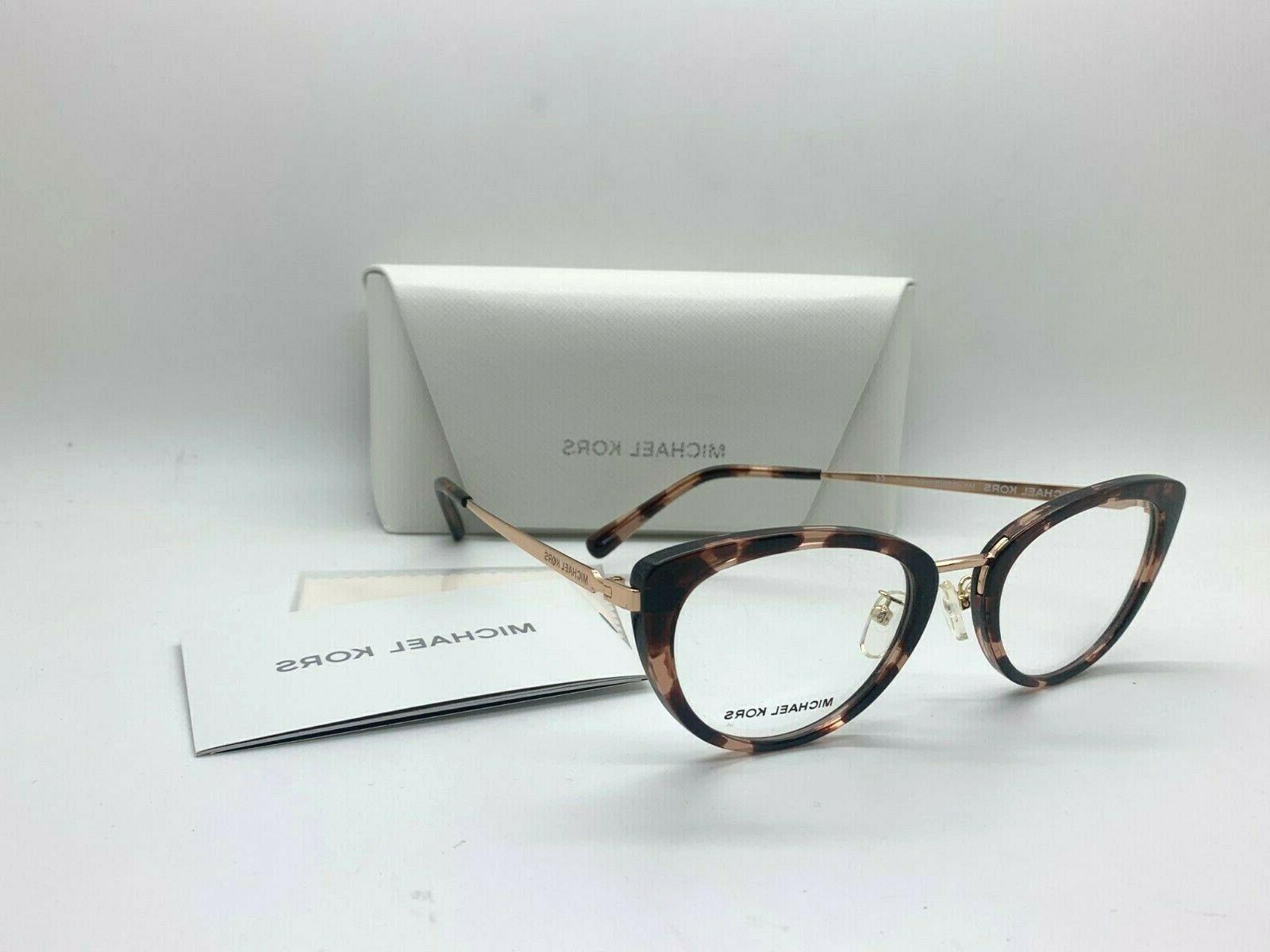 eyeglasses mk4062 3006 54 havana brown 54