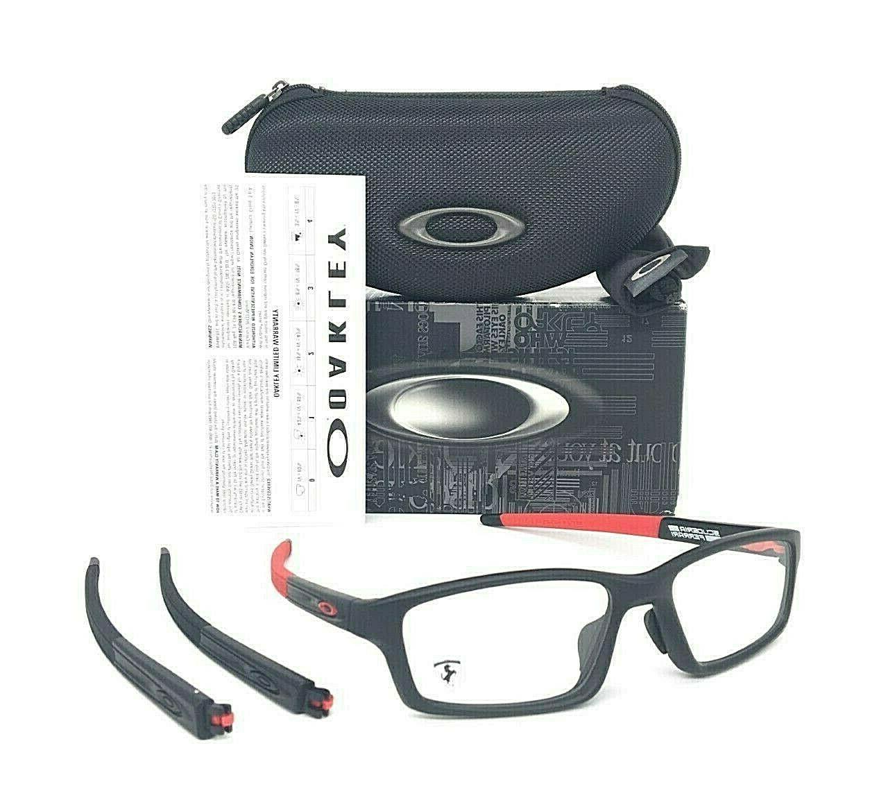Oakley Eyeglasses OX8041 CROSSLINK PITCH Asian Fit 804109