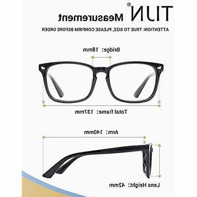TIJN Eyewear Light Glasses Nerd Anti