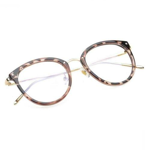 Amomoma Fashion Frame Eyeglasses Clear Lens Glasses