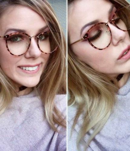 Amomoma Fashion Lens Glasses
