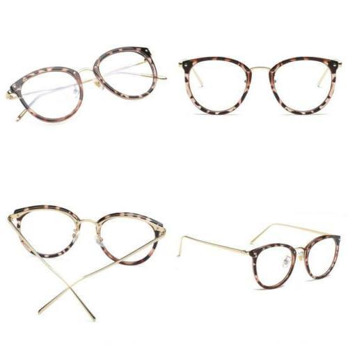 fashion round eyewear frame eyeglasses optical clear
