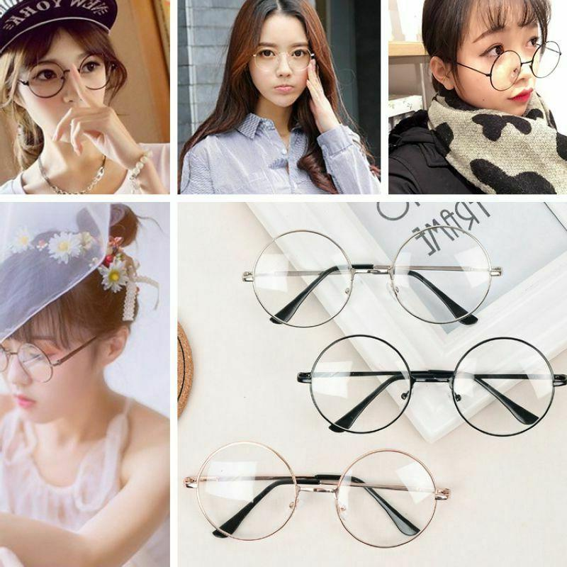 Fashion Round Frame Glasses Circle US