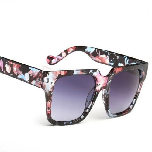 Fashion Womens Men's Mirrored Sunglasses Shopping Eye Glasses