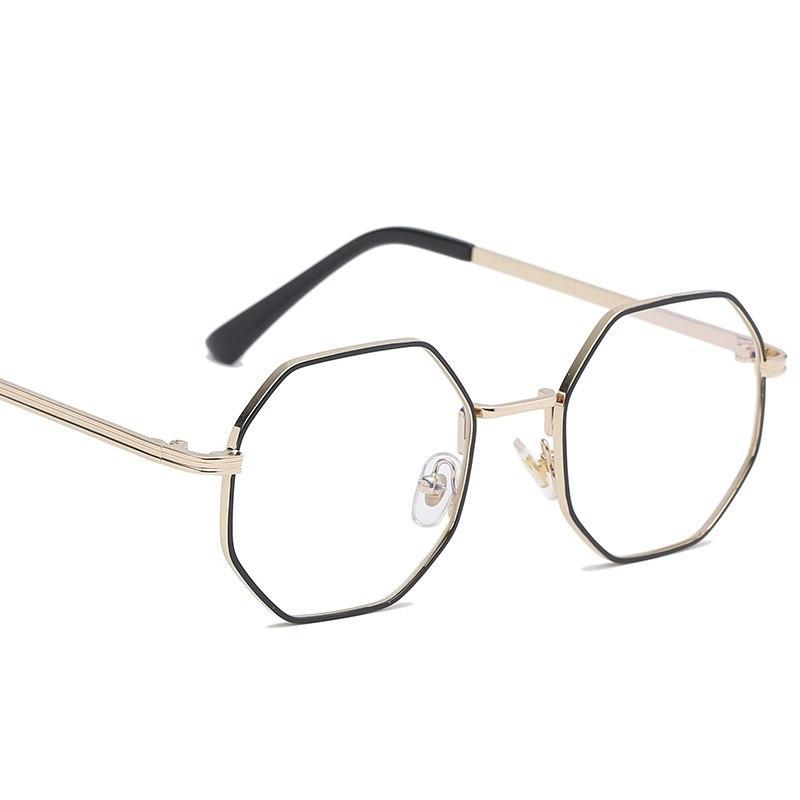 KOTTDO <font><b>Glasses</b></font> Women Retro Eyeglasses Optical Polygonal Oculos Femininos gafas