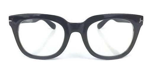 Ford Style Square Large Thick Frame Lenses Glasses