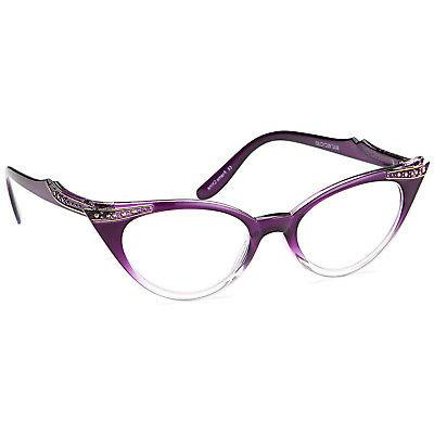 GAMMA Women Vintage Cat Reading Magnification