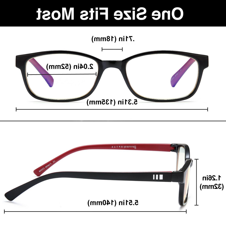 Gamma Blocking Glasses Eye