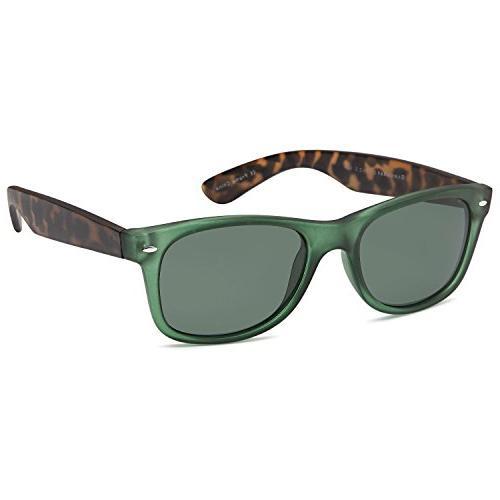 gamma ray polarized uv400 sunglasses large olive