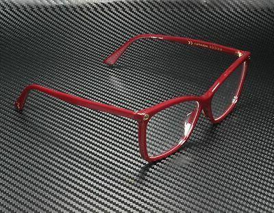 Gucci GG0025O 007 ROUND OVAL BURGUNDY DEMO LENS 56 mm Women'