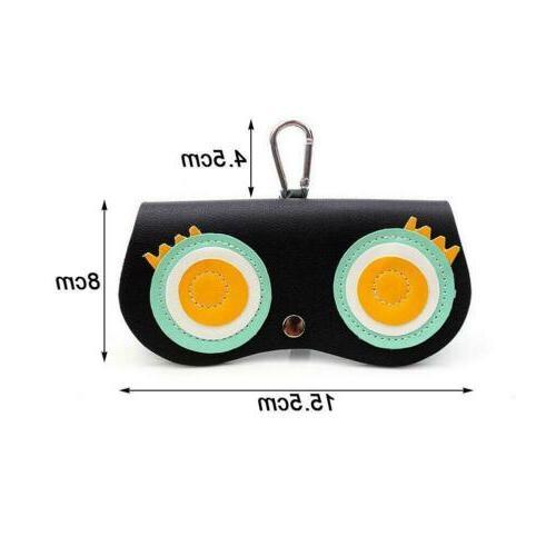 Glasses Case Cartoon Women Eye Trend