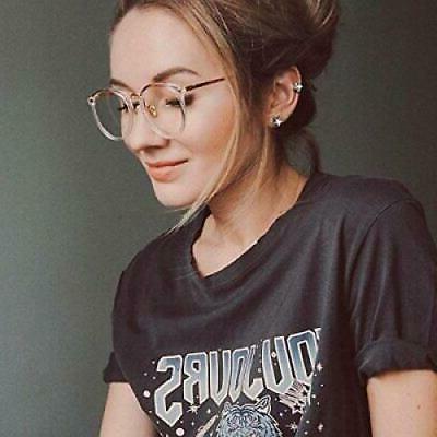 TIJN Fade Glasses|Round Eyewear Non-prescription Eyeglass...