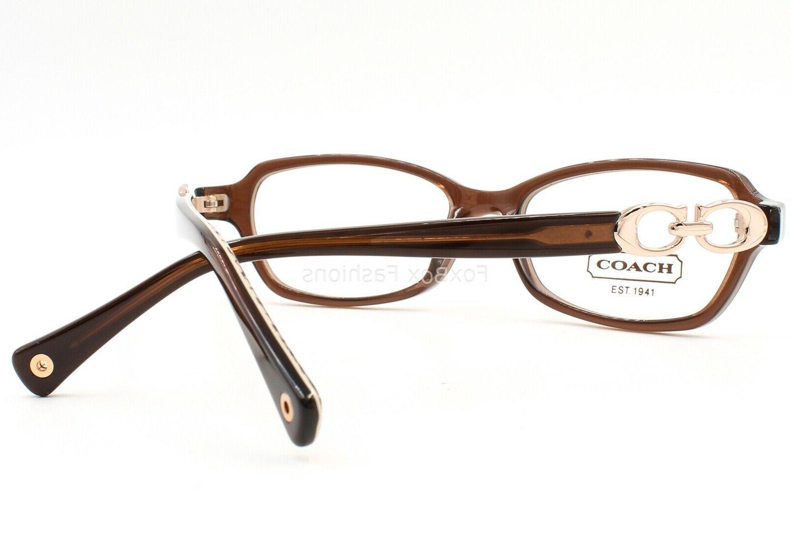 COACH Vanessa Eyeglasses Brown & Gold