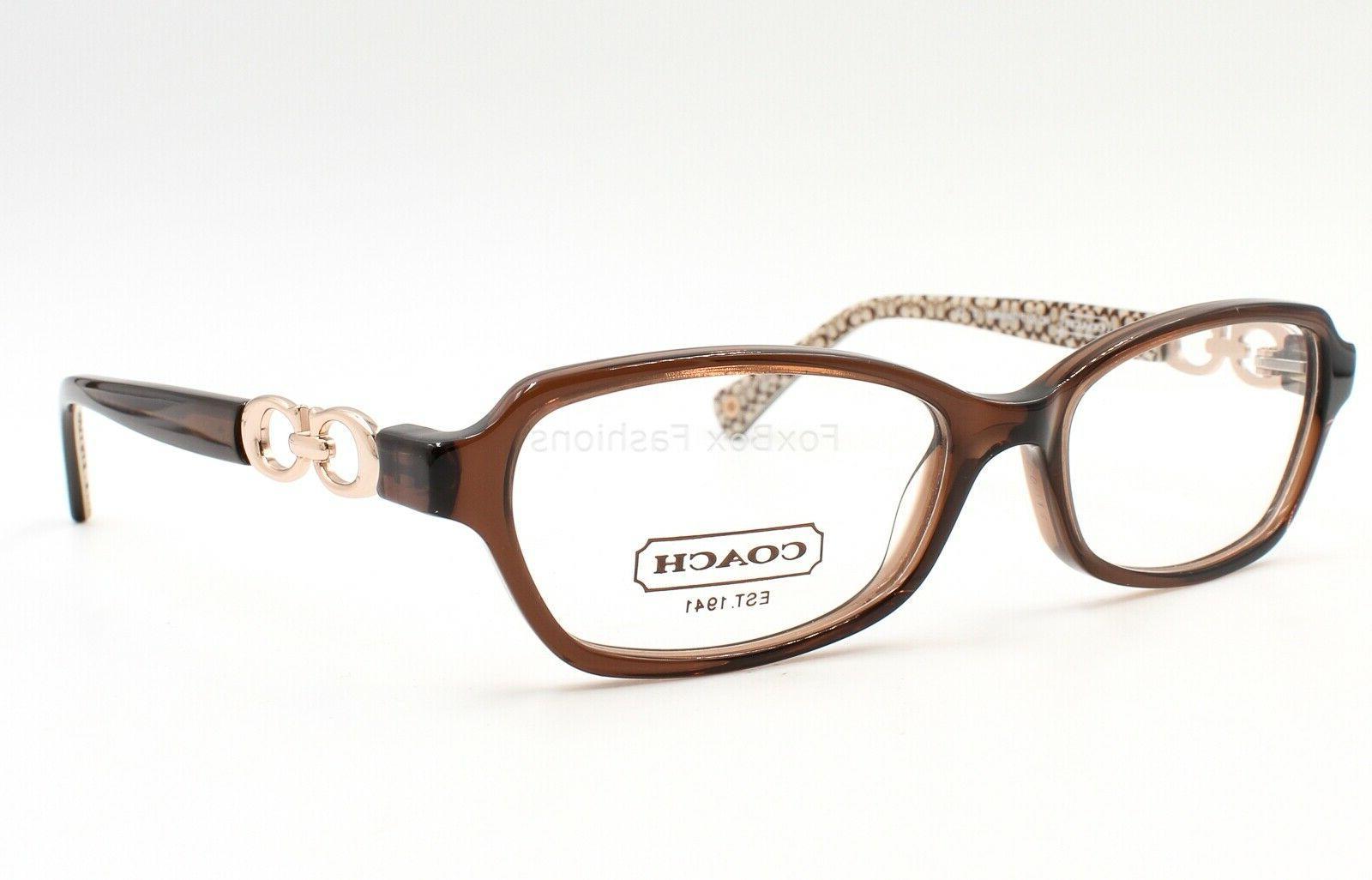 COACH HC 6017 Vanessa Eyeglasses Glasses Brown & 52-15-135