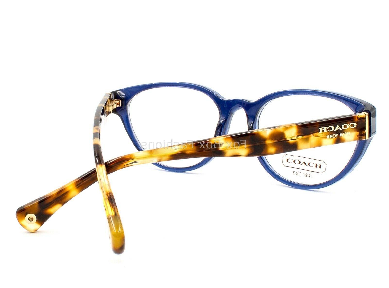 COACH 6039 5110 Baily Frame Glasses Navy & 51-17-135