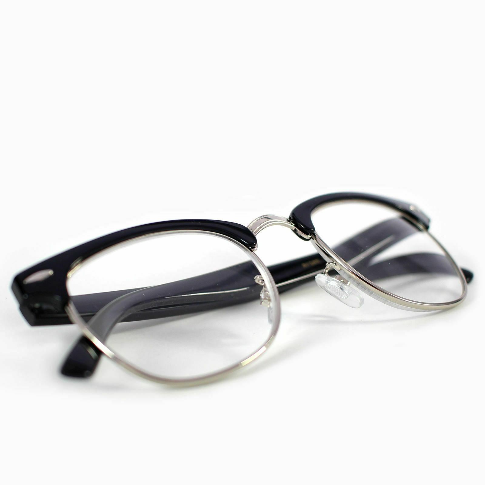Interview Clear Lens Glasses Fake Geek Retro Hipster 100%