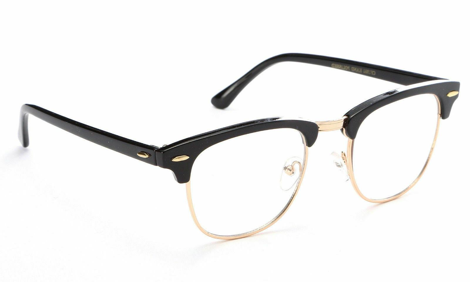 Interview Clear Lens Glasses Nerd Geek Retro Hipster 100%