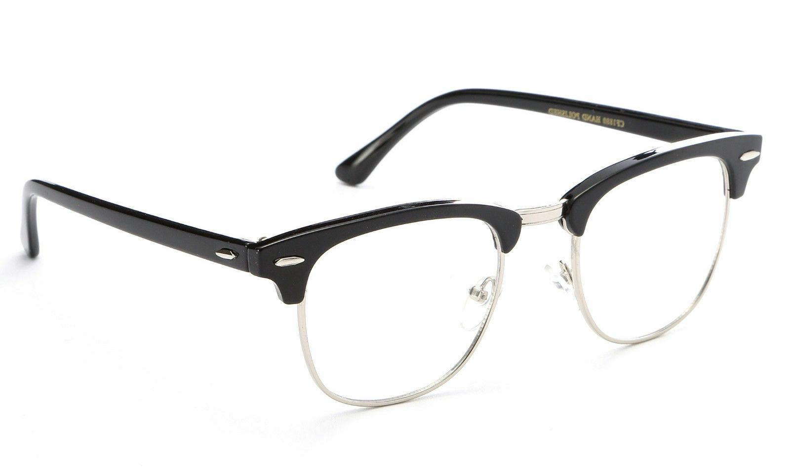 interview smart clear lens glasses fake vintage