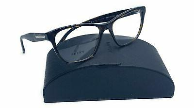 journal unisex brown tortoise glasses with case