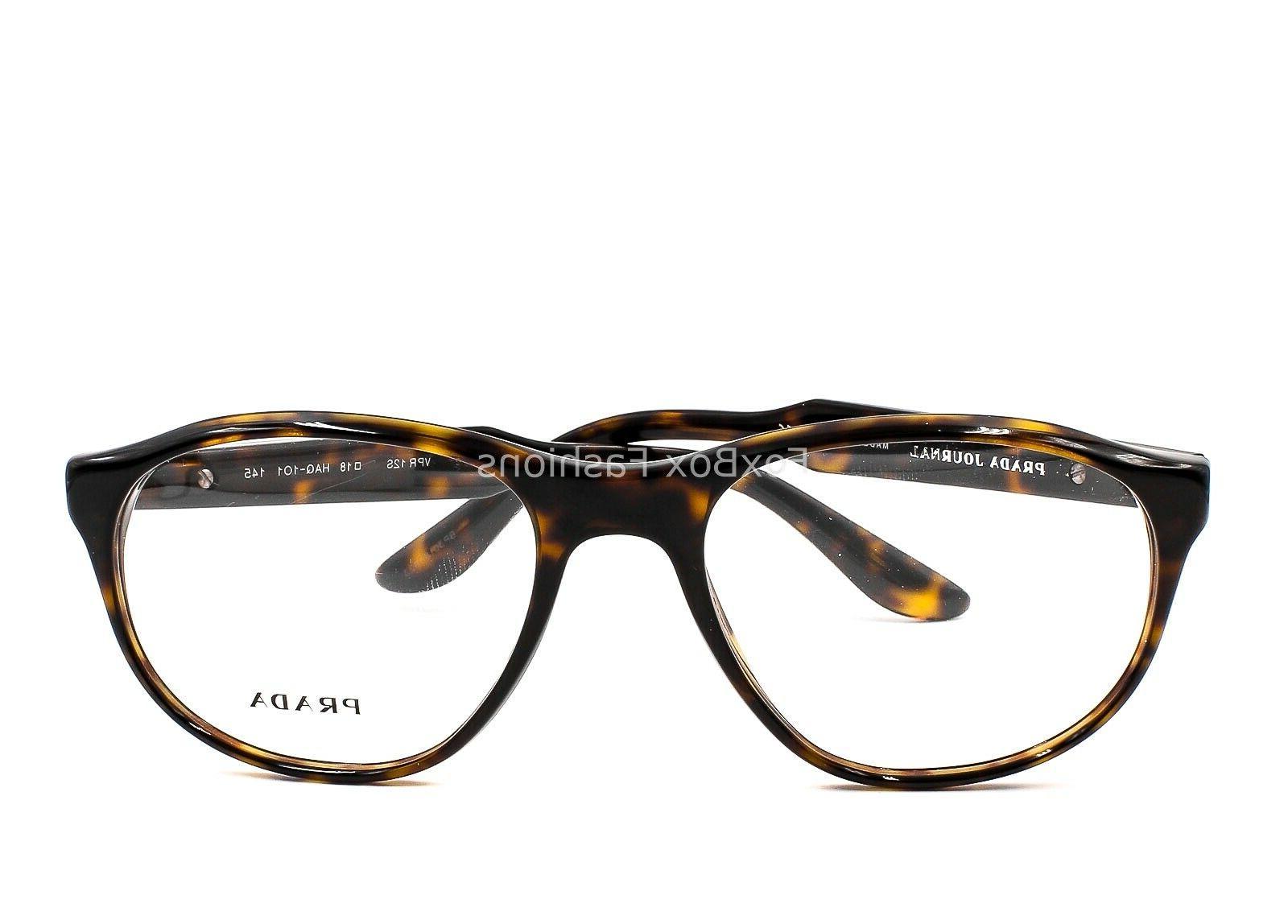 Prada Journal VPR 12S HAQ-1O1 Eyeglasses Frames Glasses Brow