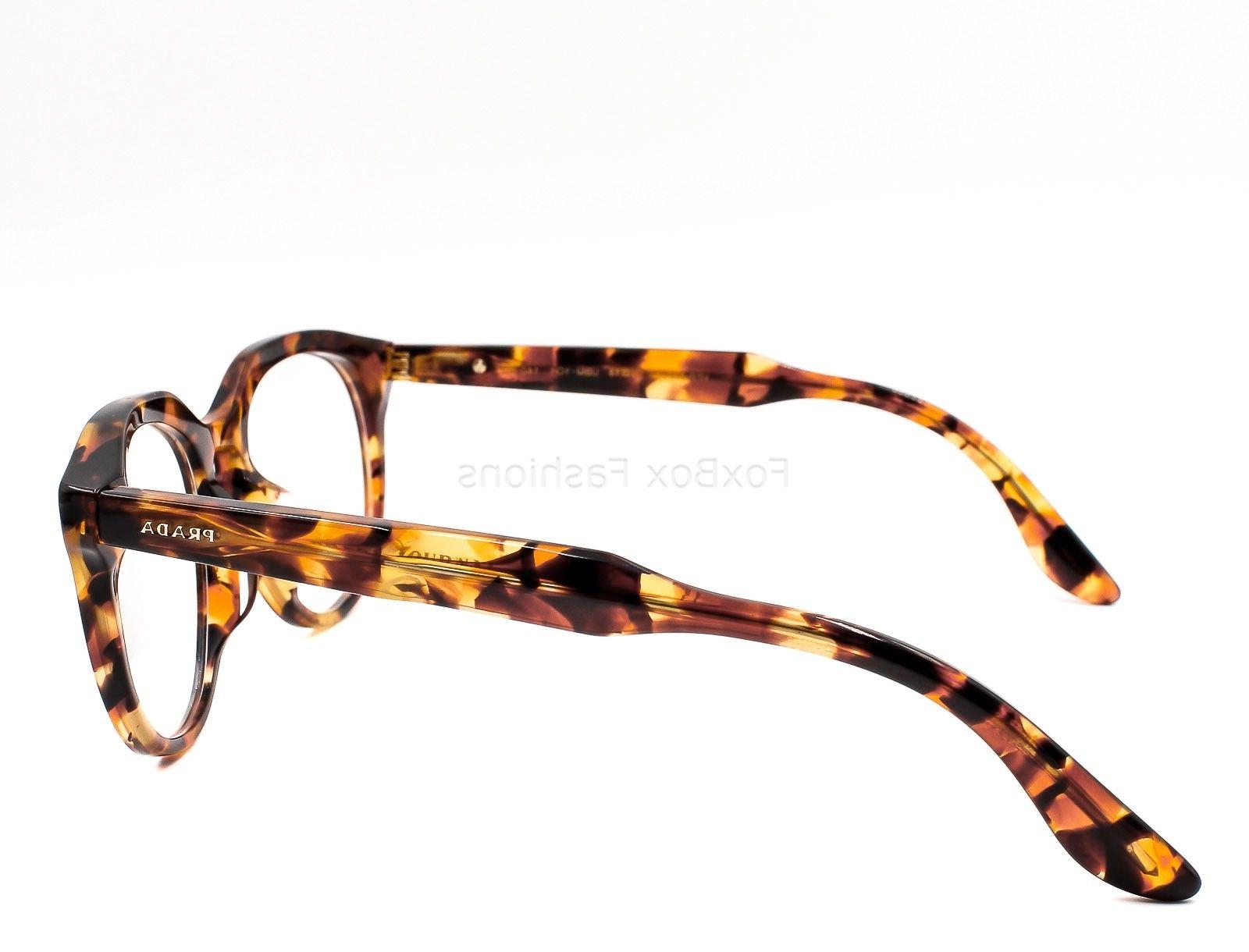 PRADA JOURNAL UBM-1O1 Frames Orange Havana Fit