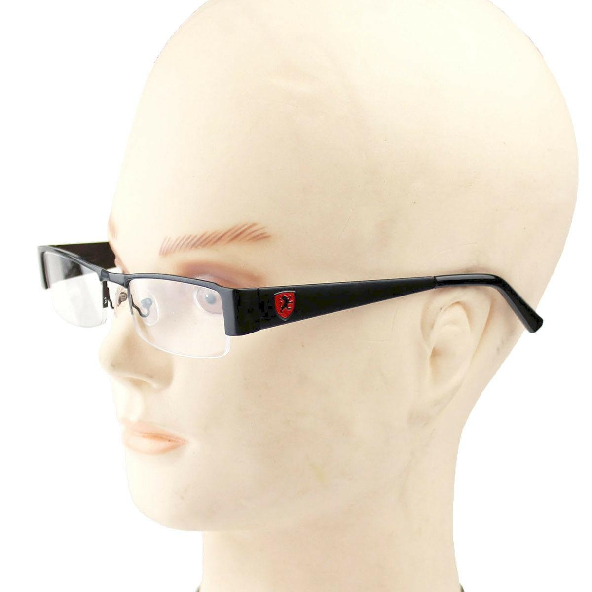Khan Mens Fake Lens Glasses Retro Fashion Frame